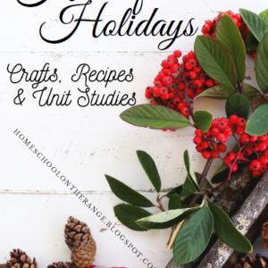 christmas homeschool holiday unit study bundle